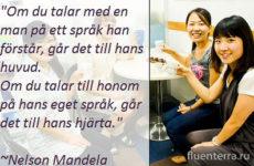 Как перевести на шведский «говорить/сказать», «рассказывать» и «разговаривать»?