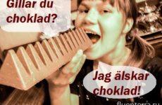 Как сказать «мне нравится» по-шведски?