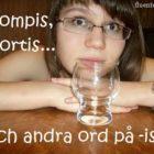 Шведские неформальные слова с окончанием -is